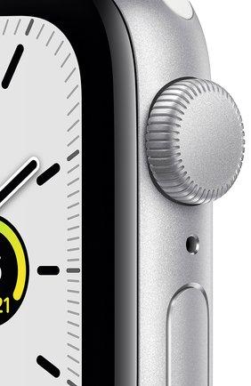 Смарт-часы Apple Watch SE GPS 40mm Silver Aluminium Case with White Sport Band | Фото №2