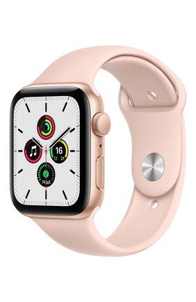 Смарт-часы Apple Watch SE GPS 44mm Gold Aluminium Case with Pink Sand Sport Band | Фото №1
