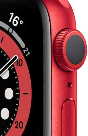 Смарт-часы apple watch series 6 gps 40mm product(red) aluminium case with product(red) sport band APPLE  (product)red цвета, арт. M00A3RU/A | Фото 2