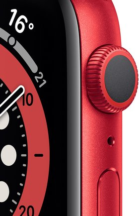 Смарт-часы apple watch series 6 gps 44mm product(red) aluminium case with product(red) sport band APPLE  (product)red цвета, арт. M00M3RU/A | Фото 2