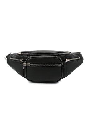 Женская поясная сумка attica ALEXANDER WANG черного цвета, арт. 2030P0073L | Фото 1