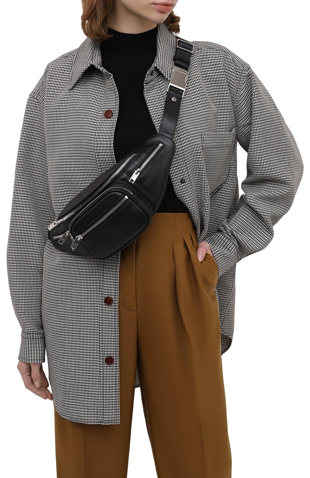 Женская поясная сумка attica ALEXANDER WANG черного цвета, арт. 2030P0073L | Фото 2