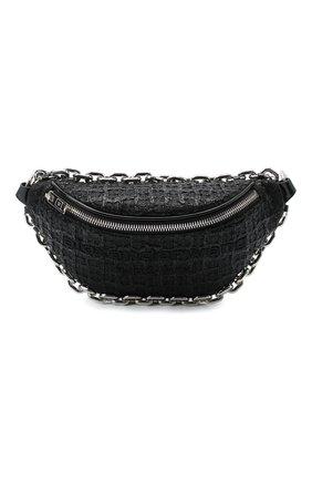 Женская поясная сумка attica ALEXANDER WANG черного цвета, арт. 20C220F135 | Фото 1