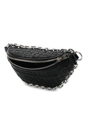 Женская поясная сумка attica ALEXANDER WANG черного цвета, арт. 20C220F135 | Фото 4