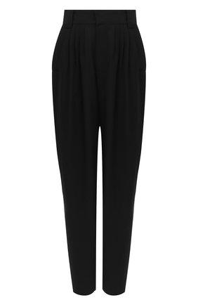 Женские шерстяные брюки ALESSANDRA RICH черного цвета, арт. FAB2228-F2333 | Фото 1