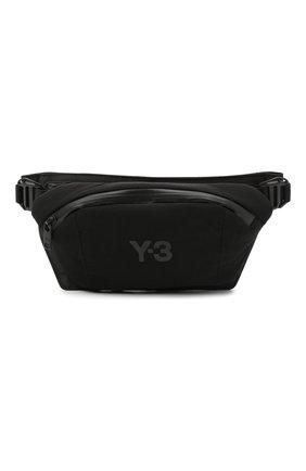Мужская текстильная поясная сумка ch1 Y-3 черного цвета, арт. GK2088/M | Фото 1