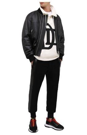Мужские текстильные кроссовки spectre GIVENCHY черного цвета, арт. BH003PH0NH | Фото 2