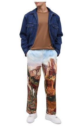 Мужская джинсовая куртка Y/PROJECT темно-синего цвета, арт. JACK66-S19 D06 | Фото 2