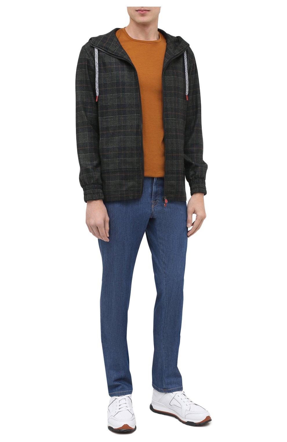Мужские джинсы BRIONI голубого цвета, арт. SPNJ0L/P9D22/STELVI0 | Фото 2