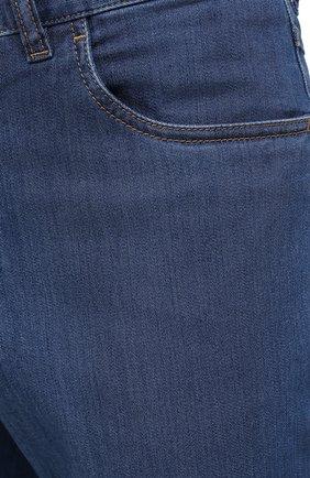 Мужские джинсы BRIONI голубого цвета, арт. SPNJ0L/P9D22/STELVI0 | Фото 6