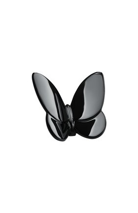 Мужского скульптура бабочка lucky black BACCARAT черного цвета, арт. 2 813 514 | Фото 1