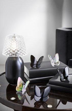 Мужского скульптура бабочка lucky black BACCARAT черного цвета, арт. 2 813 514 | Фото 2