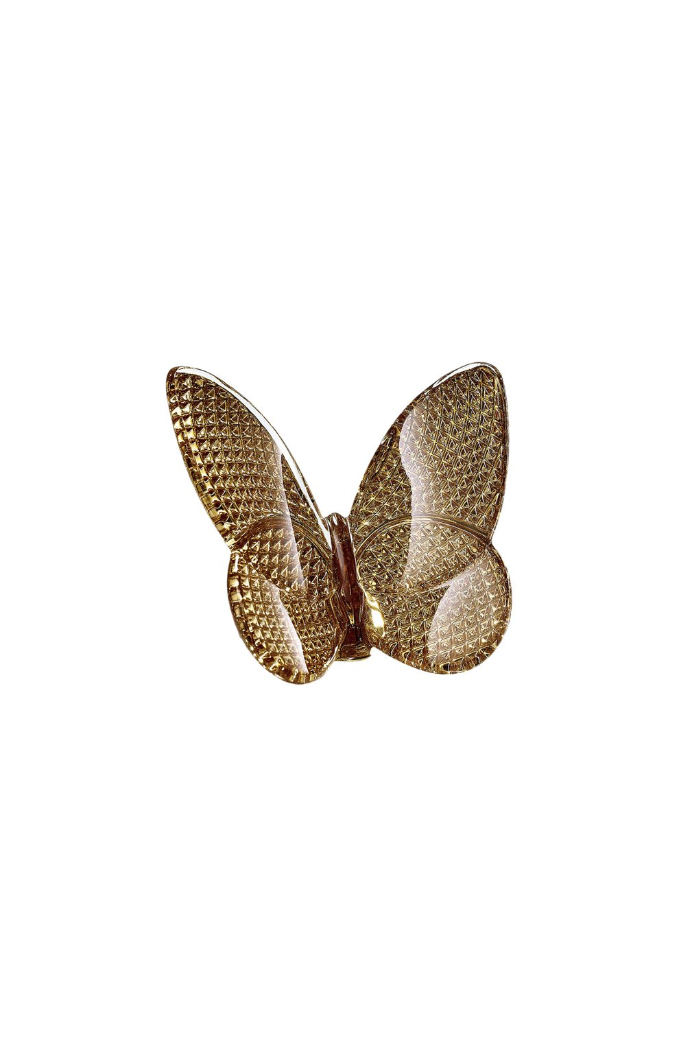 Мужского скульптура бабочка diamond gold BACCARAT золотого цвета, арт. 2 812 663 | Фото 1