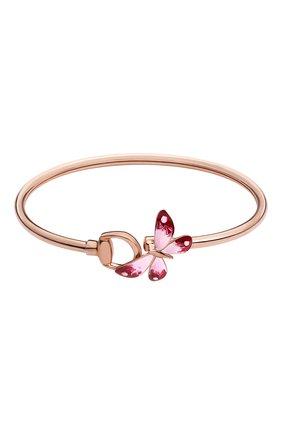 Женский браслет GUCCI розового золота цвета, арт. YBA389132001 | Фото 1