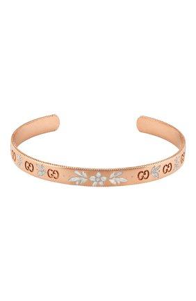 Женский браслет icon blooms GUCCI розового золота цвета, арт. YBA434528002 | Фото 1
