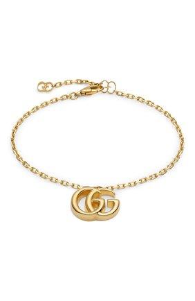 Женский браслет GUCCI розового золота цвета, арт. YBA501676001 | Фото 1