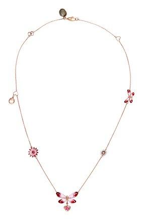 Женские колье GUCCI розового золота цвета, арт. YBB389145001 | Фото 1
