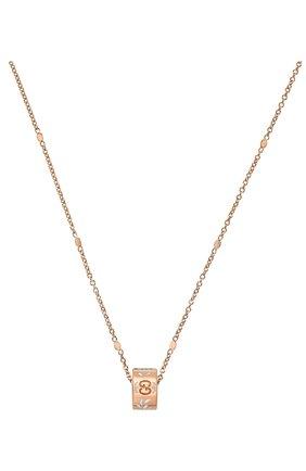 Женские кулон GUCCI розового золота цвета, арт. YBB434553002 | Фото 1