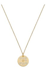 Женские кулон GUCCI бесцветного цвета, арт. YBB460851003 | Фото 1 (Материал сплава: Желтое золото; Драгоценные камни: Другие)