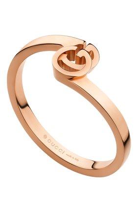 Женские кольцо GUCCI розового золота цвета, арт. YBC457122001 | Фото 1