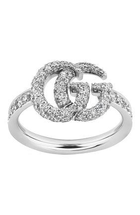 Женские кольцо GUCCI бесцветного цвета, арт. YBC525693001   Фото 1