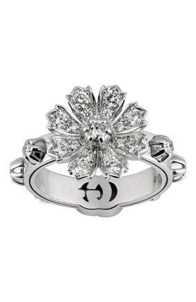 Женские кольцо GUCCI бесцветного цвета, арт. YBC581843001   Фото 1