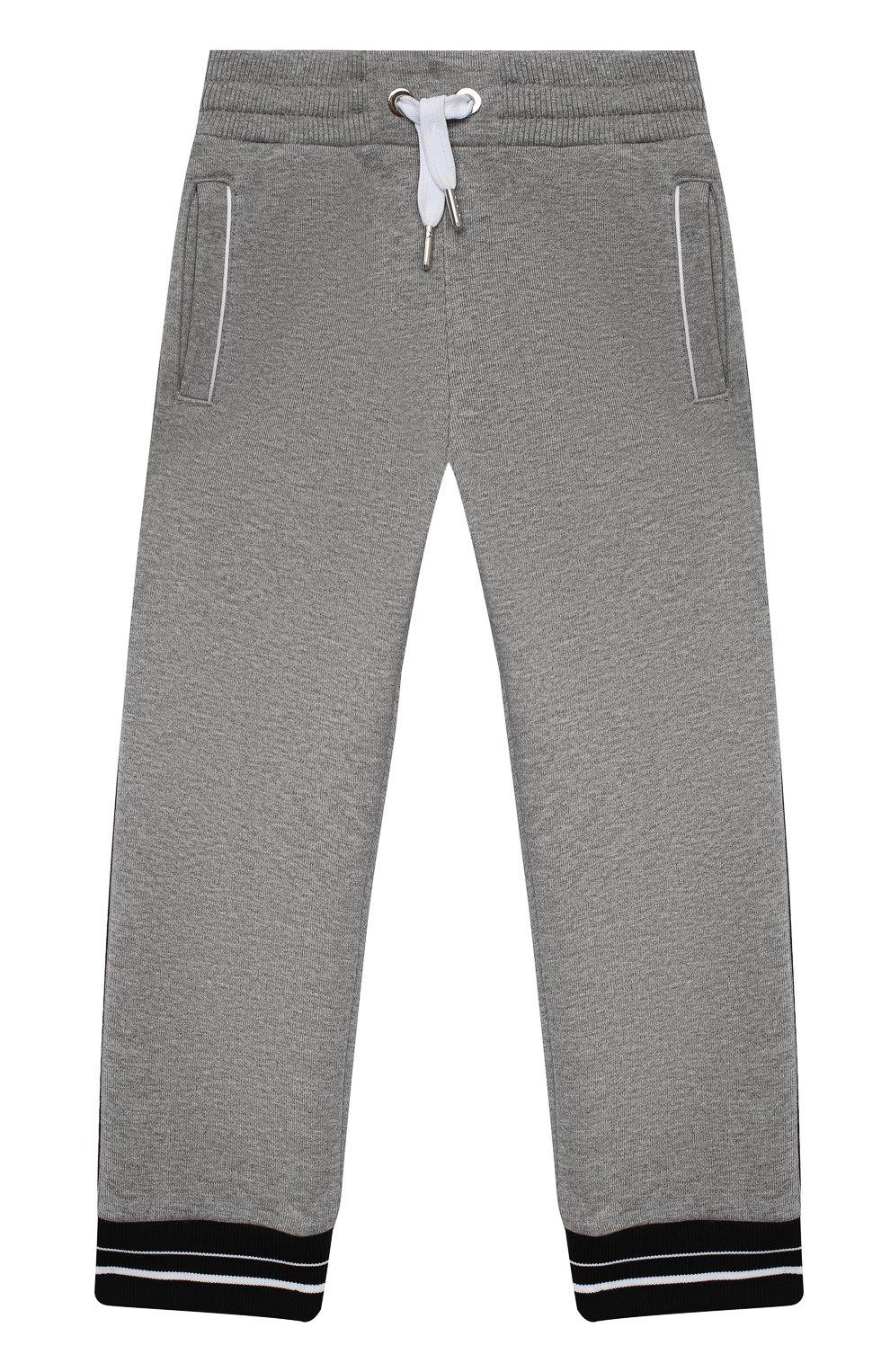 Детские брюки GIVENCHY серого цвета, арт. H04082   Фото 1