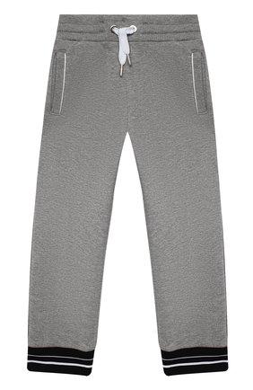 Детские брюки GIVENCHY серого цвета, арт. H04082 | Фото 1