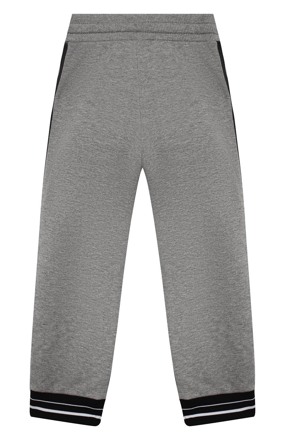 Детские брюки GIVENCHY серого цвета, арт. H04082   Фото 2