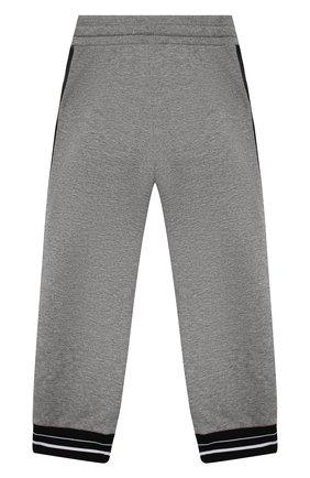 Детские брюки GIVENCHY серого цвета, арт. H04082 | Фото 2