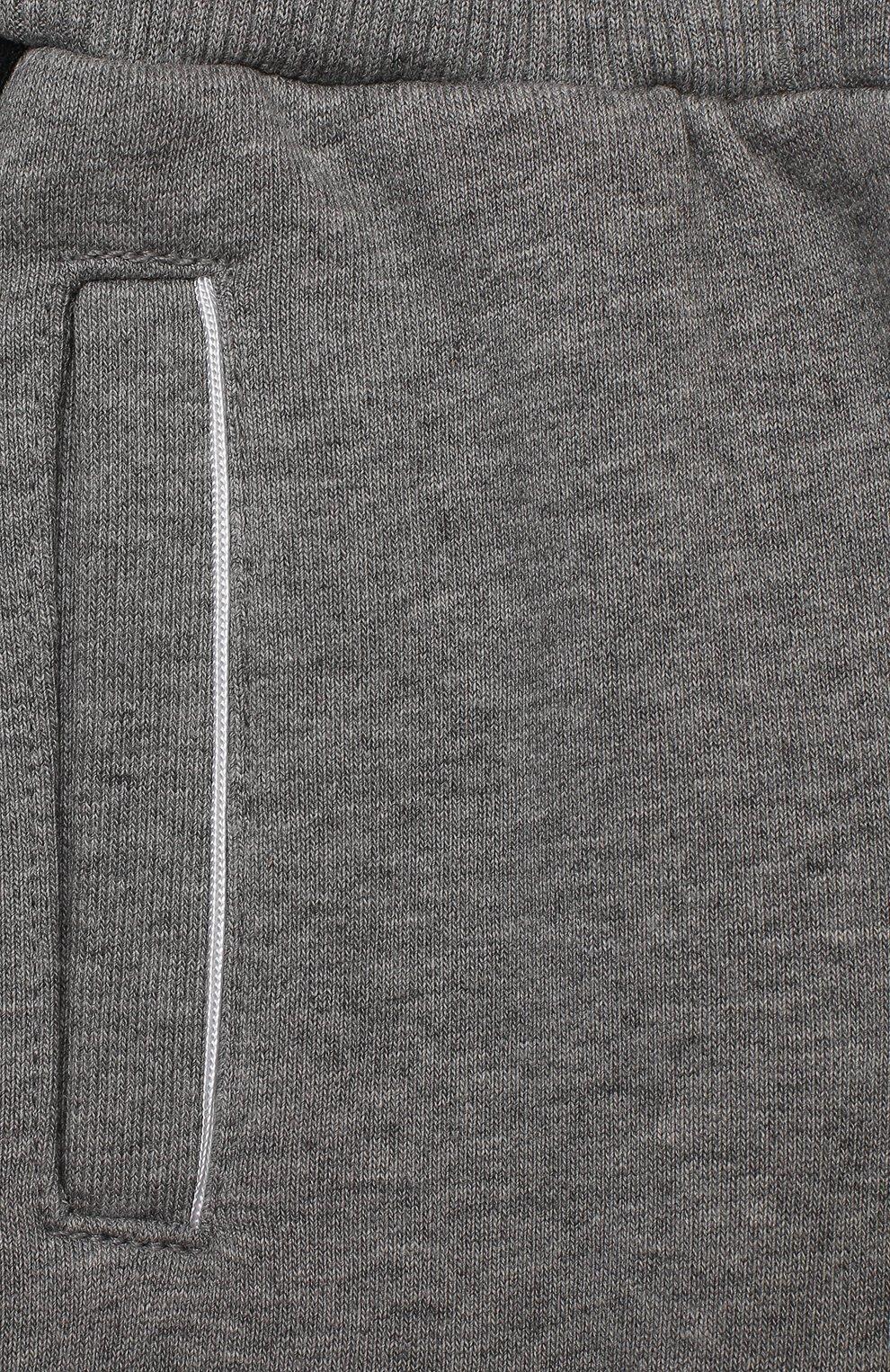 Детские брюки GIVENCHY серого цвета, арт. H04082   Фото 3
