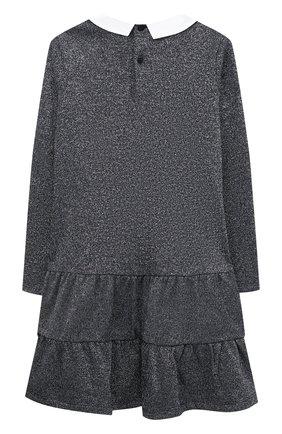 Детское платье IL GUFO темно-синего цвета, арт. A20VL401M0087/5A-8A | Фото 2