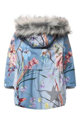 Детская куртка cathy fur MOLO голубого цвета, арт. 5W20M302 | Фото 2