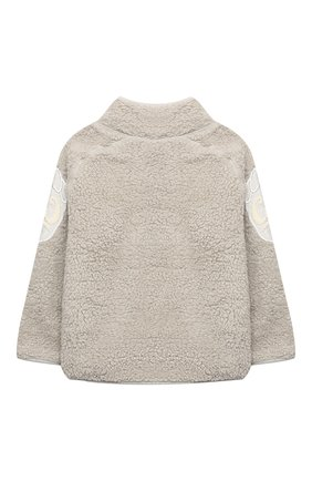 Детского куртка ulan MOLO бежевого цвета, арт. 5W20L205 | Фото 2