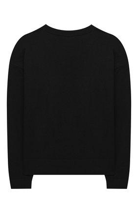 Детский пуловер VERSACE черного цвета, арт. YC000449/A236515/8A-14A | Фото 2