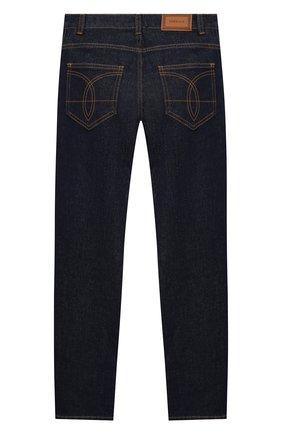 Детские джинсы VERSACE синего цвета, арт. YD000245/A236381/8A-14A | Фото 2