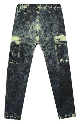 Детские хлопковые брюки STONE ISLAND разноцветного цвета, арт. 731630638/6-8 | Фото 2
