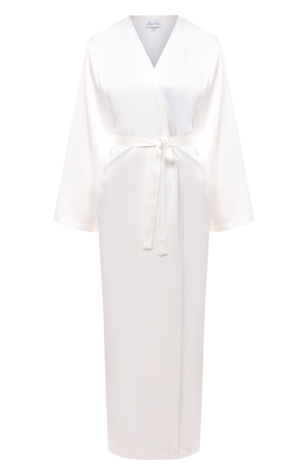 Женский халат MARJOLAINE белого цвета, арт. Laurian   Фото 1