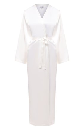 Женский халат MARJOLAINE белого цвета, арт. Laurian | Фото 1