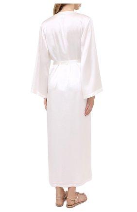 Женский халат MARJOLAINE белого цвета, арт. Laurian   Фото 4