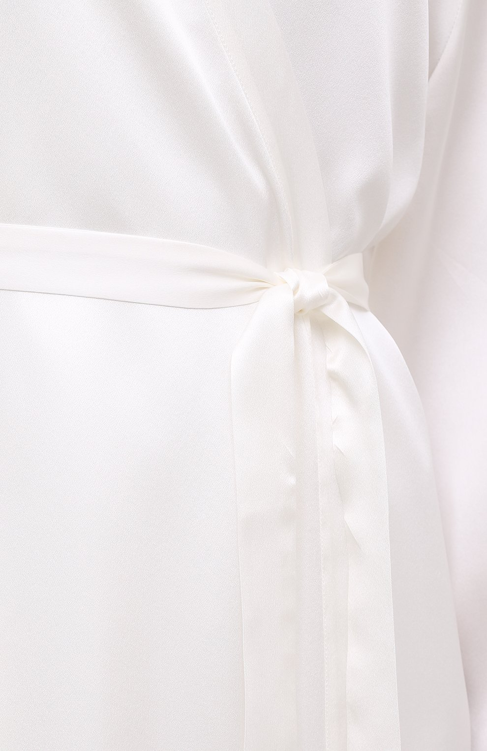 Женский халат MARJOLAINE белого цвета, арт. Laurian   Фото 5