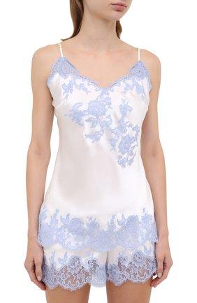Женская шелковая пижама MARJOLAINE белого цвета, арт. 3GEM4012-3GEM5003 | Фото 2