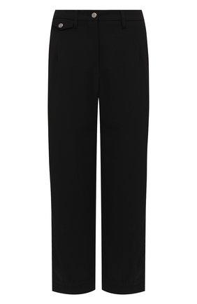 Женские брюки GIORGIO ARMANI черного цвета, арт. 0WHPP0DH/T01V0 | Фото 1