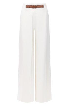 Женские шерстяные брюки RALPH LAUREN белого цвета, арт. 290815842 | Фото 1