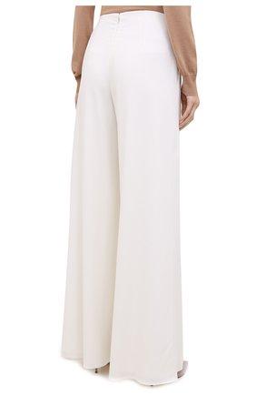 Женские шерстяные брюки RALPH LAUREN белого цвета, арт. 290815842 | Фото 5