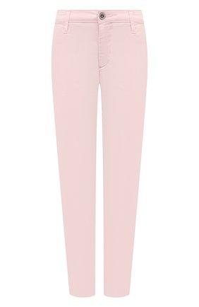 Женские хлопковые брюки AG розового цвета, арт. ART1613/RF0G | Фото 1