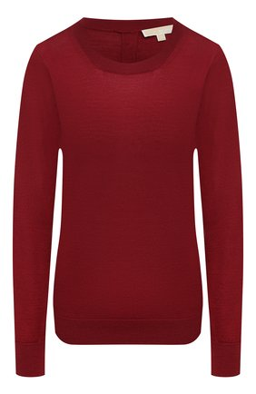 Женский пуловер MICHAEL MICHAEL KORS бордового цвета, арт. MU06PAYCHN | Фото 1