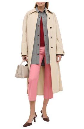 Женский пуловер MICHAEL MICHAEL KORS бордового цвета, арт. MU06PAYCHN | Фото 2