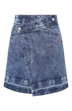 Женская джинсовая юбка STELLA MCCARTNEY синего цвета, арт. 601793/S0H04 | Фото 1