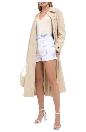 Женские джинсовые шорты STELLA MCCARTNEY разноцветного цвета, арт. 576545/S0H09 | Фото 2